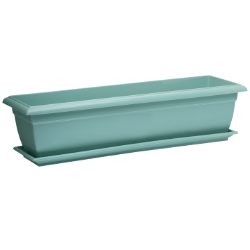 Santino Planter Window Box with Saucer JARDI