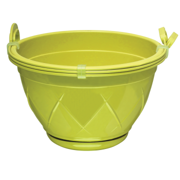 Santino Hanging Basket With Attached Saucer LILIA HANGING
